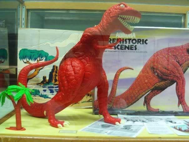 Aurora Dinosaur T-Rex Kit