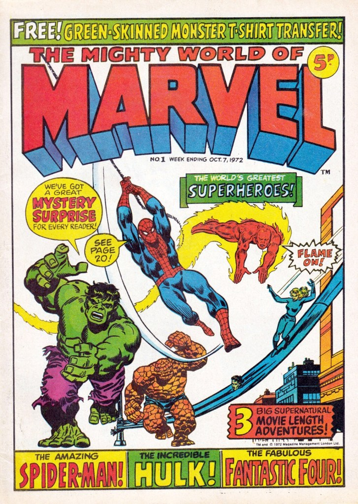 Mighty World of Marvel Issue One