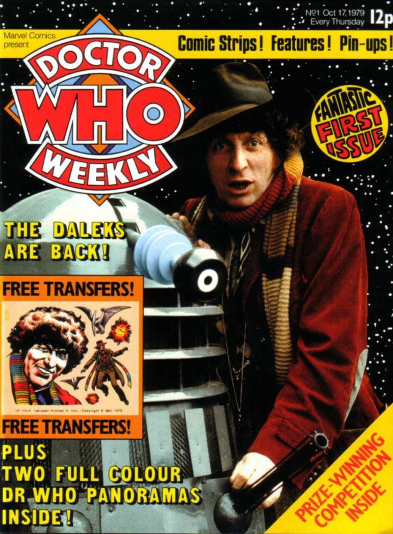Doctor Who Weekly Issue One