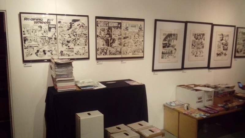 Treasury of British Comics - Orbital Comics Exhibition June 2018 - Action - The Beatles Story