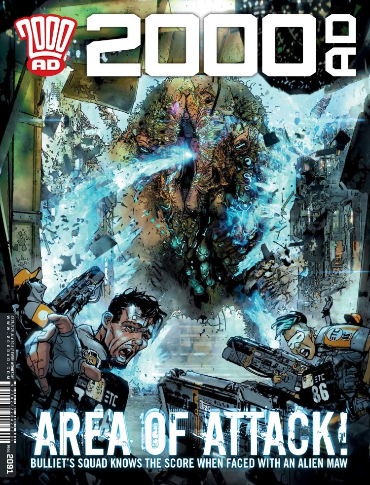 2000AD Prog 2091 - Cover