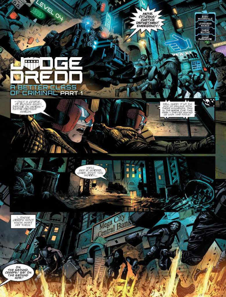 2000AD Prog 2091 - Judge Dredd