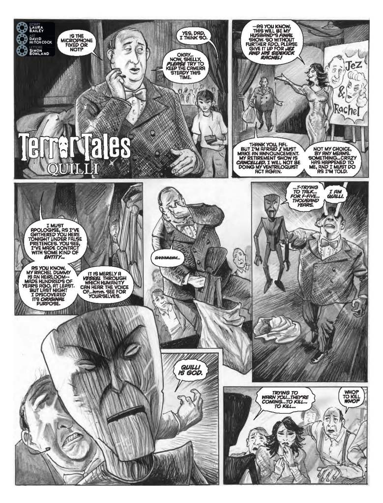 2000AD Prog 2091 - Tharg's Terror Tales » Quilli