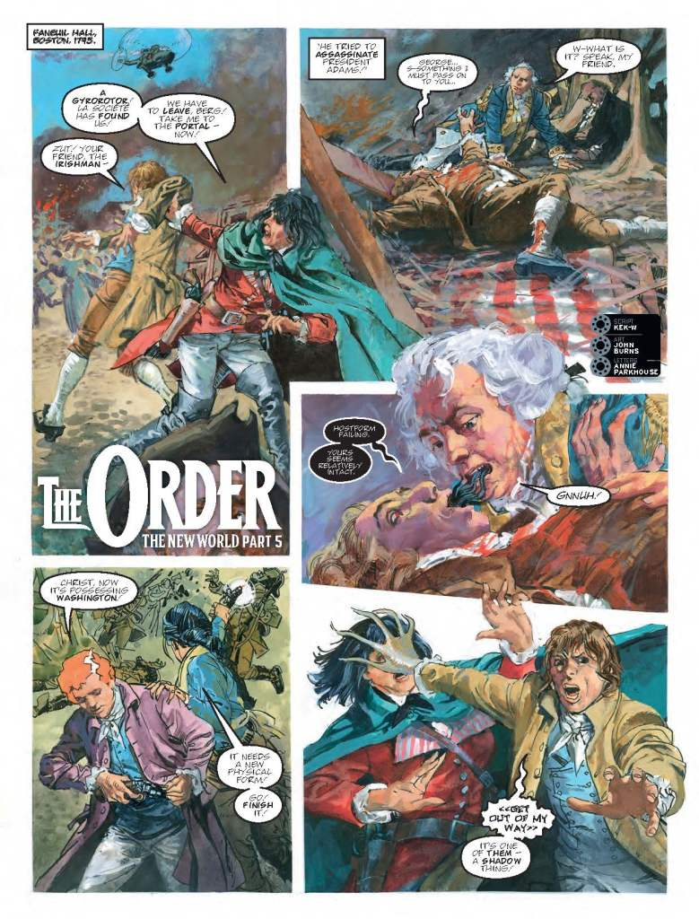 2000AD Prog 2091 - The Order