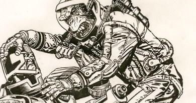 2000AD Prog 2089 Cover - Chris Weston Pencil Rough SNIP