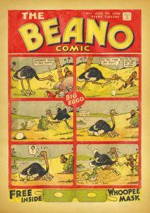 2018 Facsimile Beano No. 1 - 1938 - sans Peanut