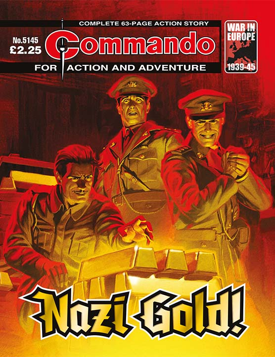 Commando 5144 - Action and Adventure: Nazi Gold!