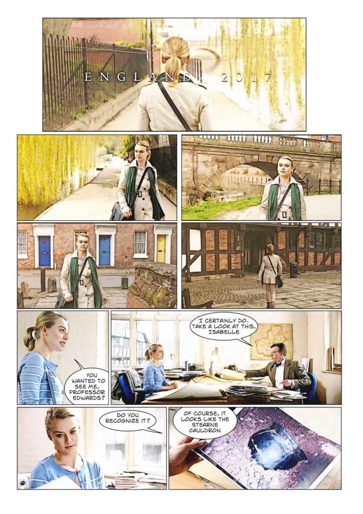 Crucible of the Vampire - Graphic Novel Sample Art