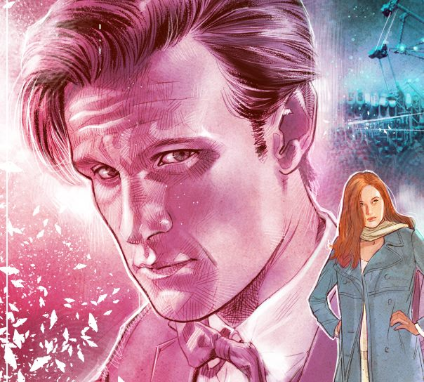 Doctor Who Infinity - Tenth Doctor art by Dylan Teague
