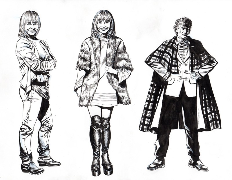 Character designs for The Orphans of the Polyoptra
