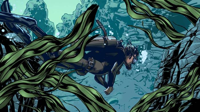 Art for Doctor Who - Infinity - Lady of the Lake by Neil Edwards and Dylan Teague
