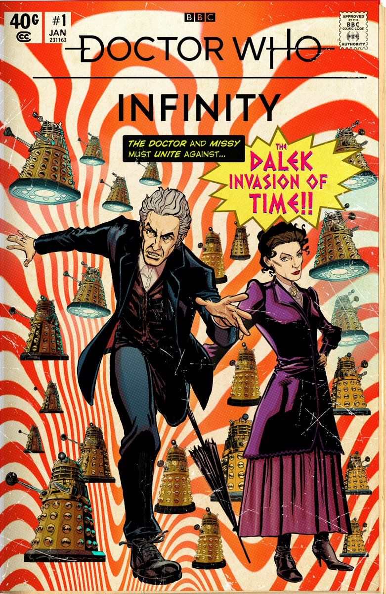 Doctor Who Infinity - The Dalek Invasion of Time. Art by Mike Collins and Kris Carter