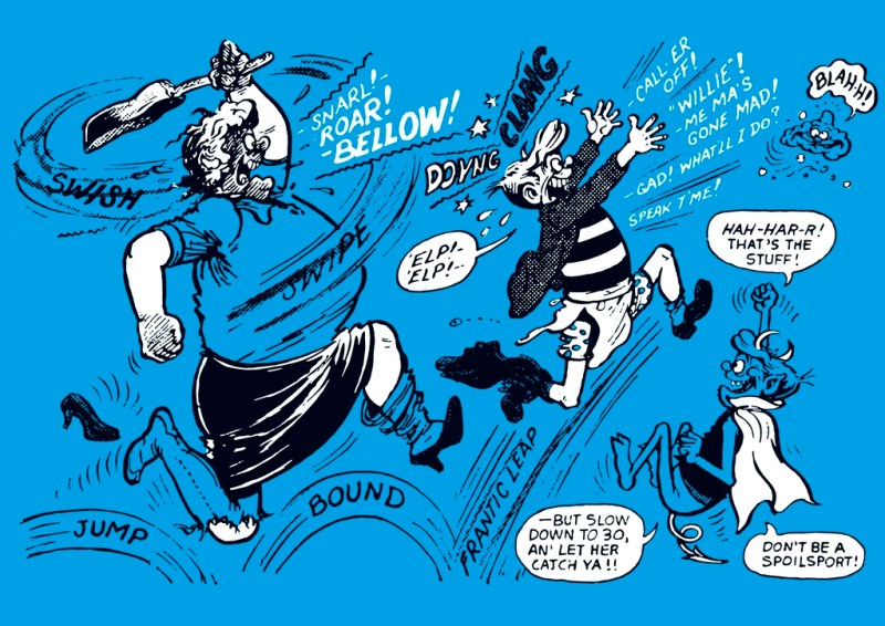 The POWer Pack of Ken Reid Volume 2 - Endpapers