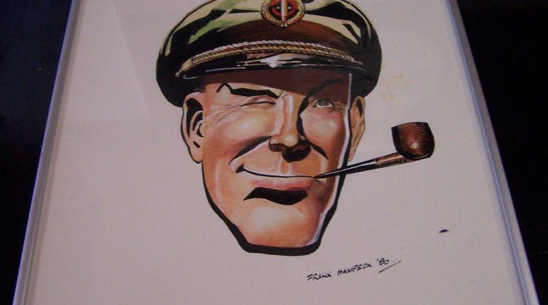 Dan Dare by Frank Hampson - Watercolour