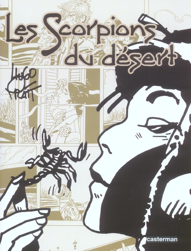 Les Scorpions du désert by Hugo Pratt - Tome 1 - Cover