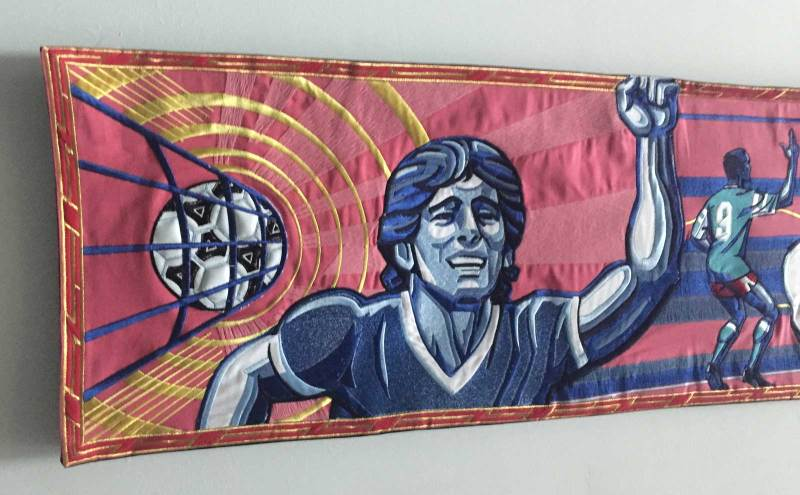 National Football Museum - World Cup 2018 Tapestry