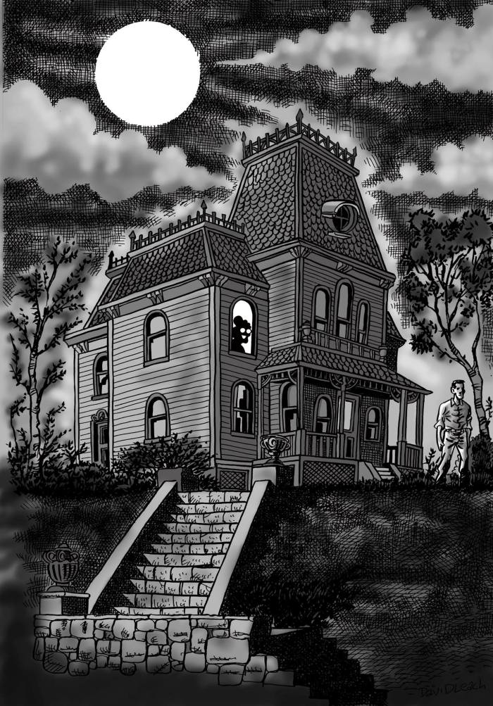 David Leach's Psycho Gran in the Psycho House