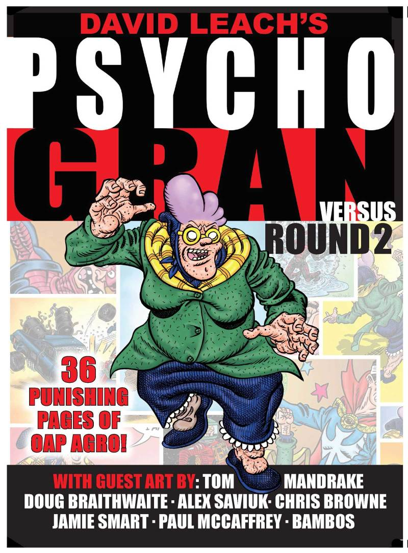 Psycho Gran versus... Round 2! - Cover