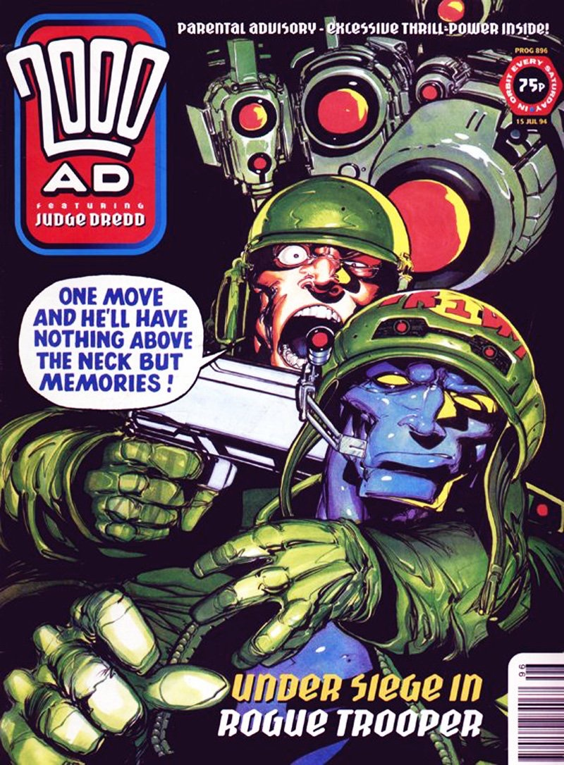Rogue Trooper by Henry Flint