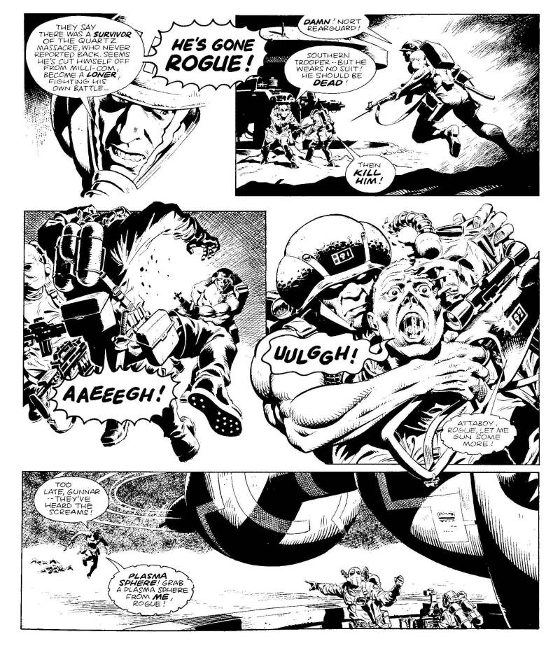 Rogue Trooper Primer - Sample Art