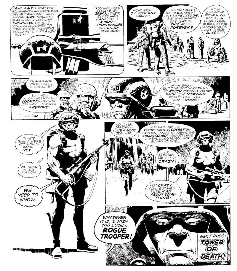 Relive the first adventures of Rogue Trooper in a special free digital primer courtesy of the 2000AD team!
