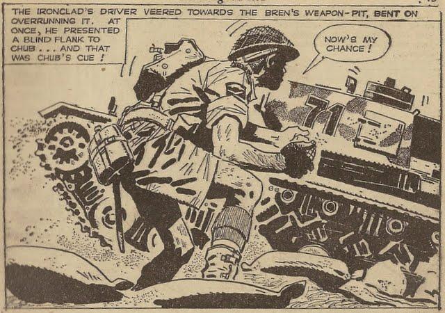 War Picture Library Issue 135 - Sample Art by Hugo Pratt