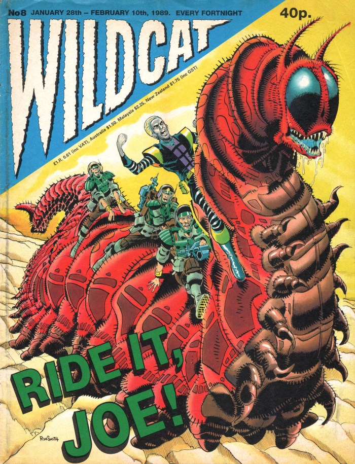 Some of Wildcat's utterly bonkers covers certainly caught the eye on the news stand