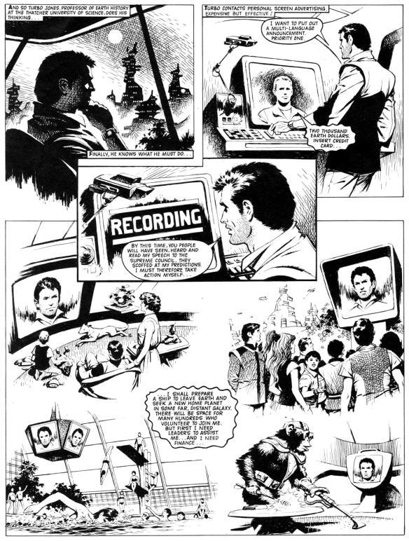 Wildcat, one of Fleetway's last boy's adventure comics, to