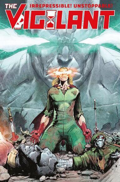 The Vigilant - Forbidden Planet Variant Cover