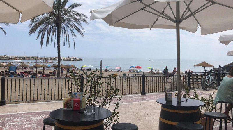 Tony Esmond - View in Spain