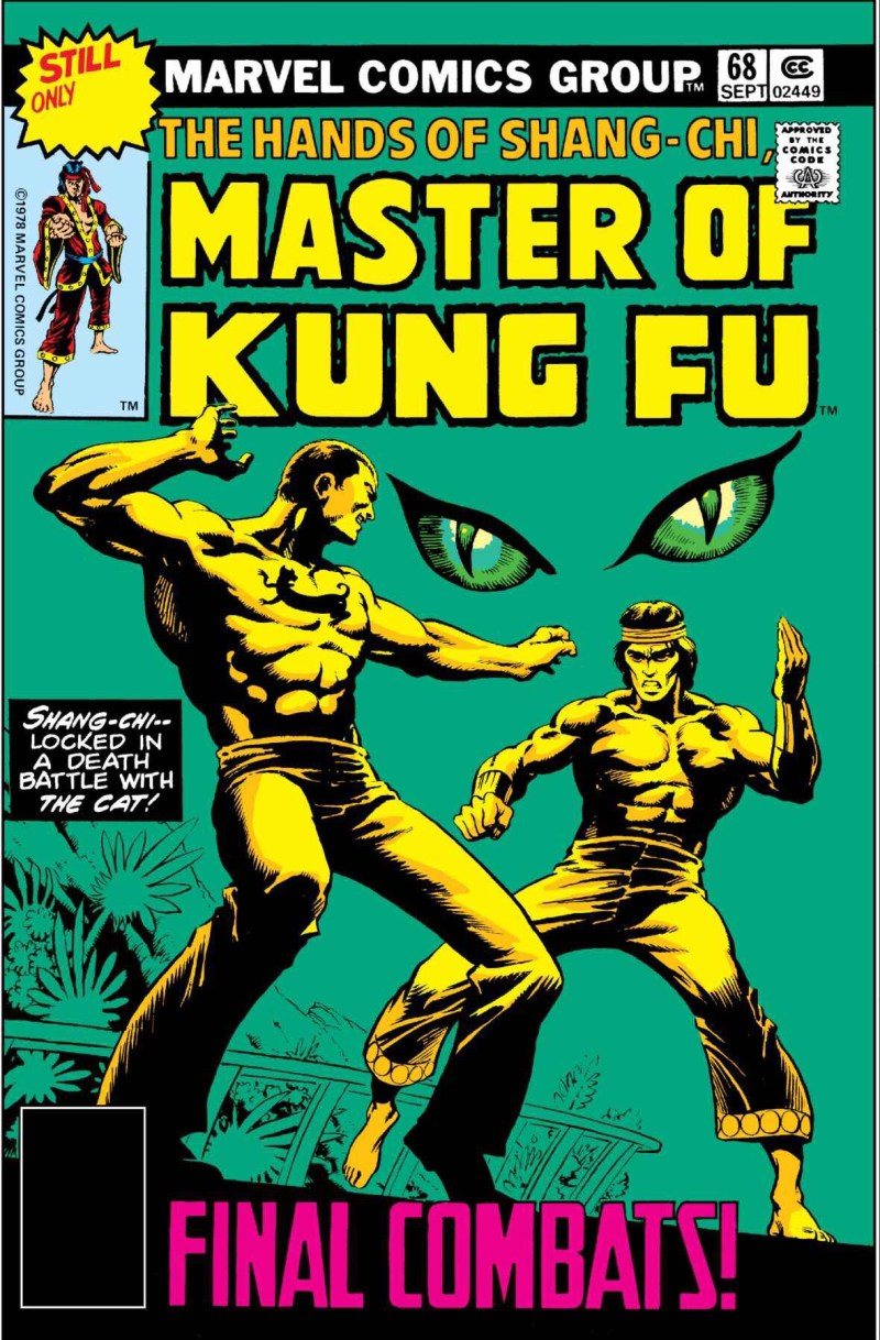 The Hands of Shang-Chi Master of Kung Fu - issue 68