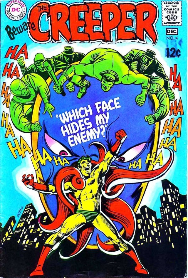 The Creeper #4 by Steve Ditko