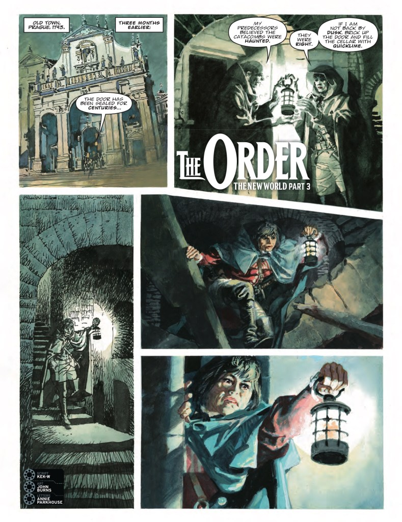 2000AD Prog 2089 The Order