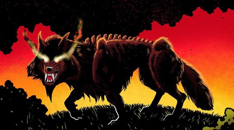 The Burning Black: Legend of Black Shuck - Promotional Art