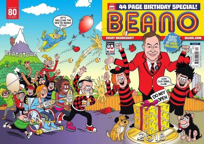 Beano 3945 - Cover