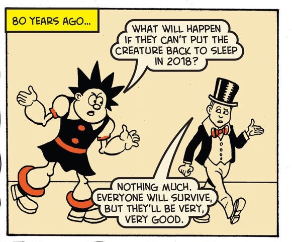 Beano 3945 - Pansy Potter and Lord Snooty