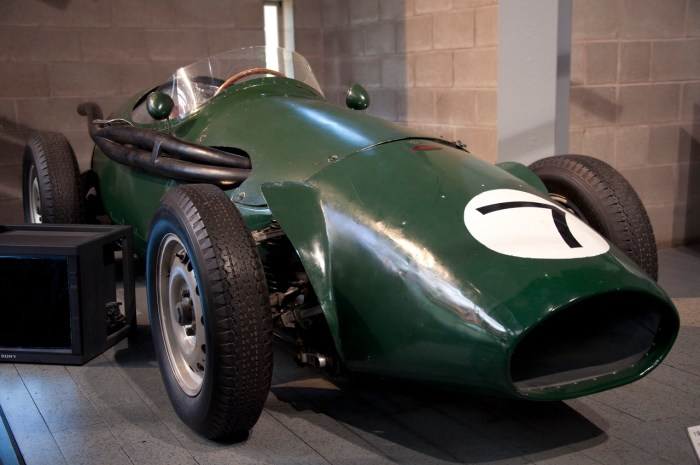 Connaught type B (1955) at the National Motor Museum in Beaulieu, England. Photo: Paul Hermans