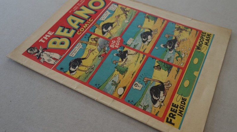 Beano Number One - cover dated 30th July 2018 (Phil's Comics copy, 2018 auction item)