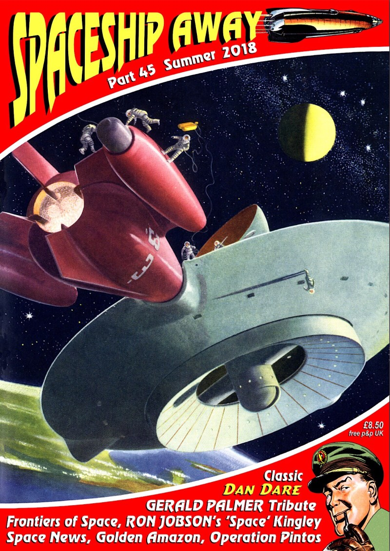 Spaceship Away Part 45 - Cover