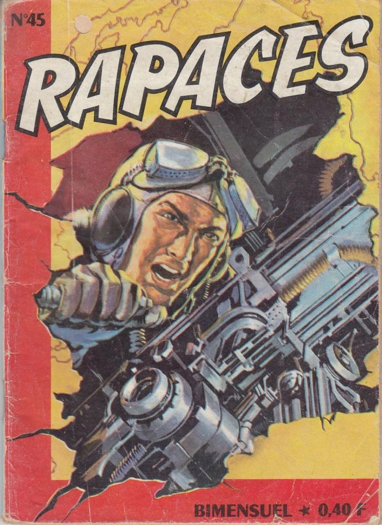 Rapaces 45 - Cover