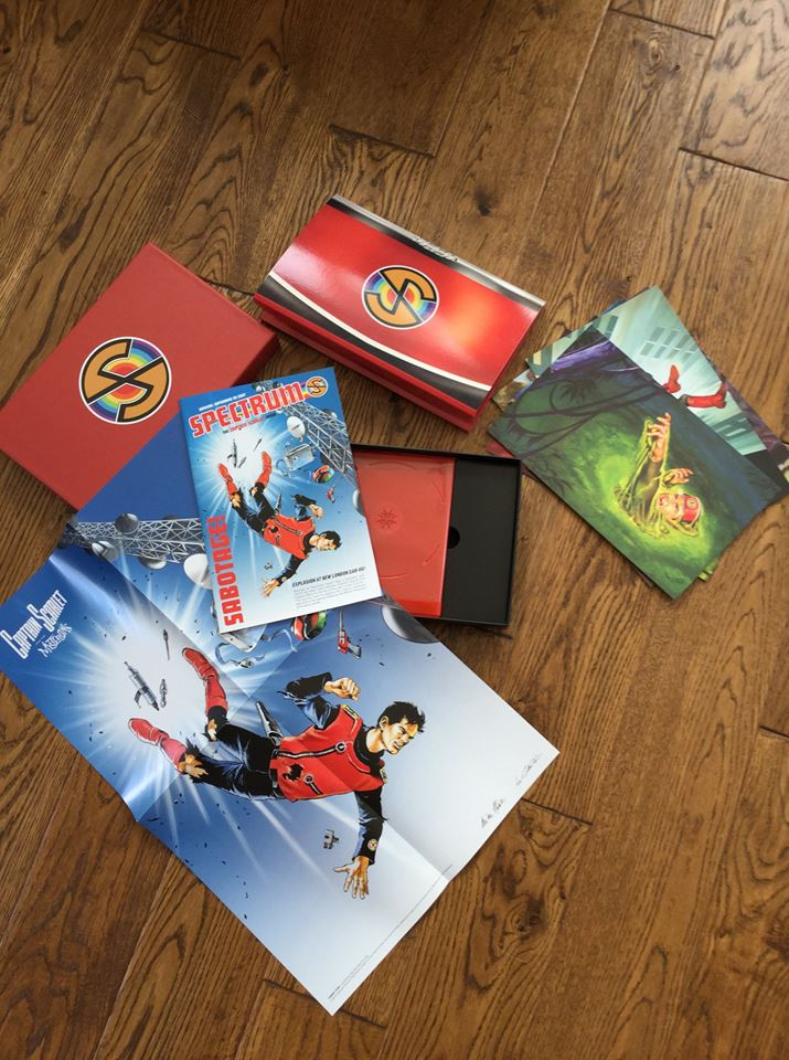 A better look at the contents of the Captain Scarlet and the Mysterons 4 Limited Edition Blu-Ray set, courtesy of Martin Cater