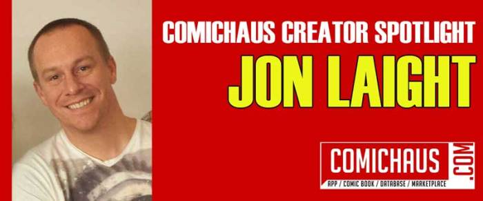 Comichaus Spotlight - Jon Laight