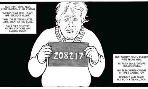 "A panel from 24 PANELS - ""If Einstein's Right …"" written by Alan Moore"