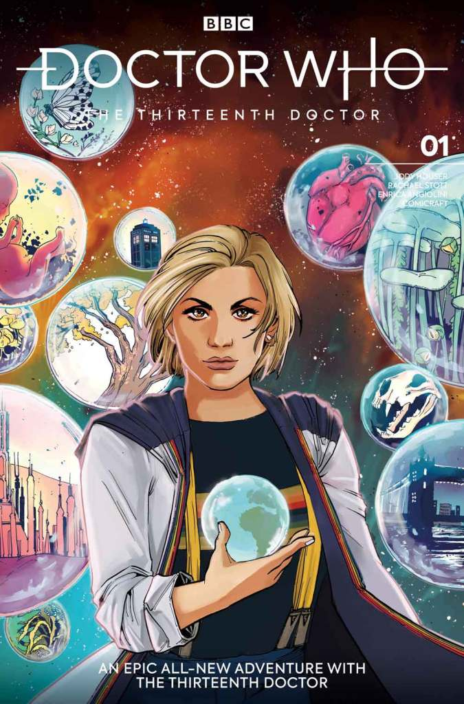 Doctor Who: The Thirteenth Doctor #1 - Cover E by Sanya Anwar