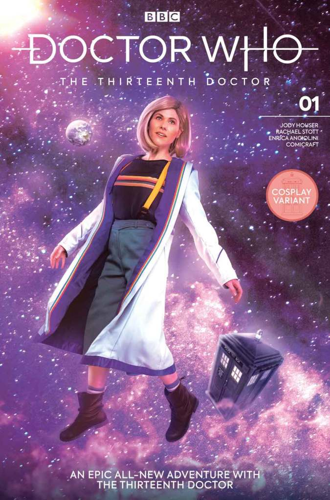 Doctor Who: The Thirteenth Doctor #1 - Cover K - Cosplay Cover
