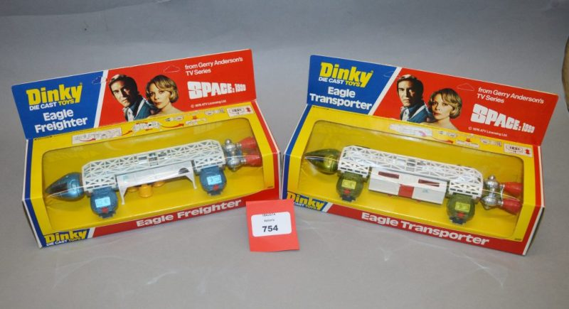Dinky Space: 1999 Eagles - Aston's Auctioneers