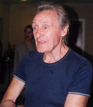 Comic artist John Armstrong at the Raptus convention in 2003. Photo courtesy Jenni Scott