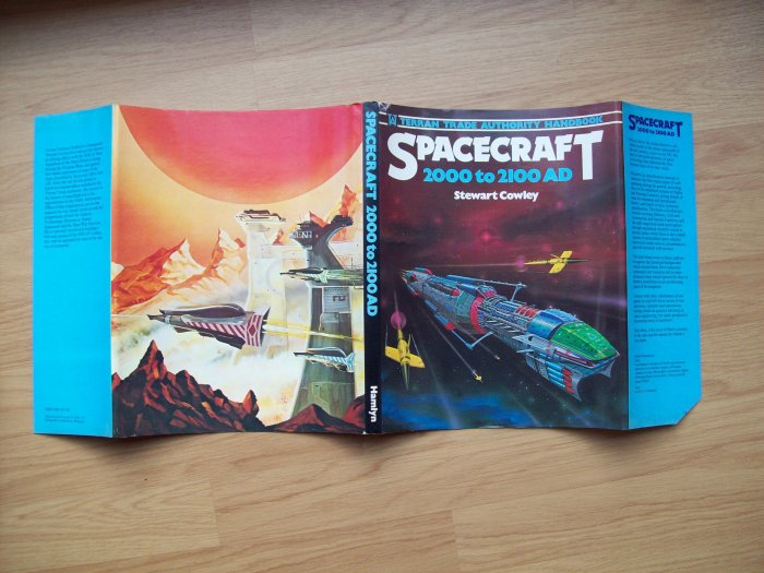 The full cover for Spacecraft 2000 - 2100AD by Stewart Cowley, published in 19978, which you can find on Amazon.