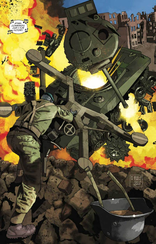 The Vigilant - Steel Commando: In Between Wars