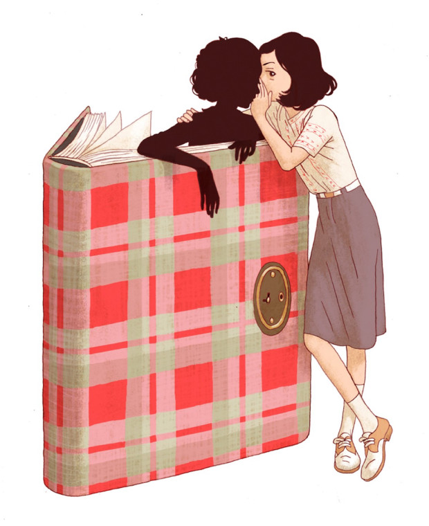 Promotional art for Where is Anne Frank
